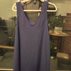 Women's navy sheath dress
